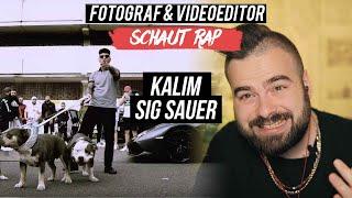 KALIM   SIG SAUER  LIVE REACTION  FOTOGRAF & VIDEOEDITOR SCHAUT RAP