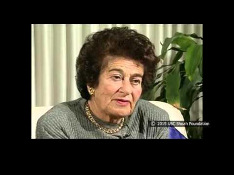 Gerda Klein sobreviviente del Holocausto recuerda el encuentro con el oficial americano con quien se casó