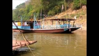 2015-03-04 Crossing the Mekong, Luang Prabang
