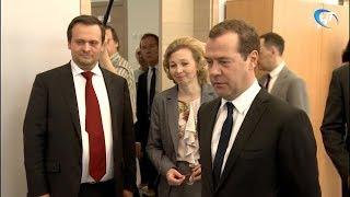 С рабочим визитом в Великом Новгороде находится премьер-министр Дмитрий Медведев