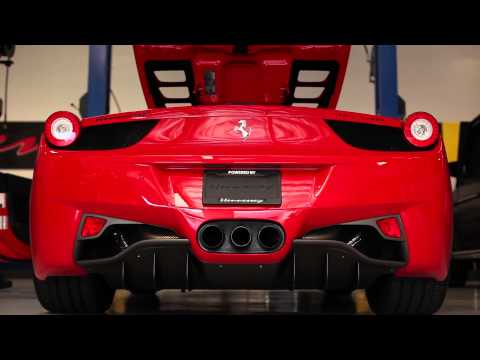 Hennessey HPE700 Twin Turbo 458 Spider