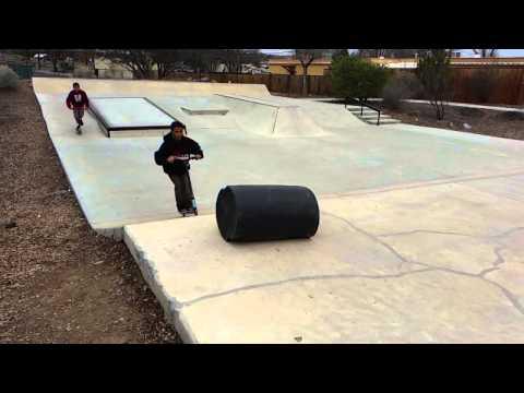 Morenci Kids 01 - Skatepark - Silver City