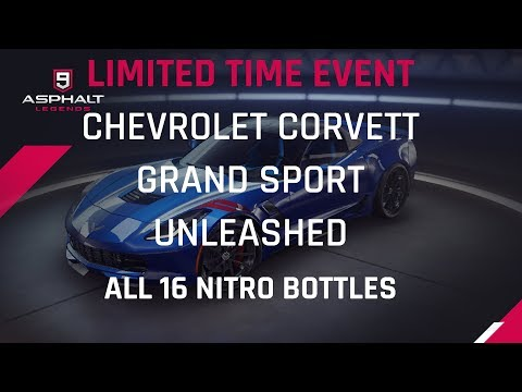 Chevrolet Corvette Unleashed - Gold Rush - Todas las botellas 16 Nitro