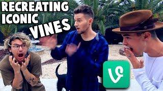 RECREATING ICONIC VINES w/ Kian & Jc