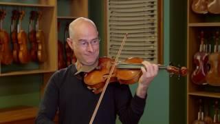Violin by Ettore Soffritti, Ferrara 1924