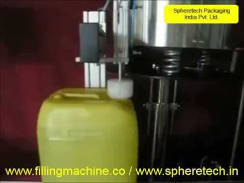 Oil Jar Single Head Servo Capping Machine