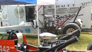 preview picture of video 'Upper Hutt Glass Racing Drag Car Idle'