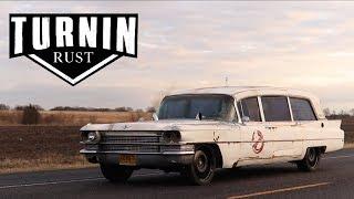 Who Ya Gonna Call Part 1 | 1963 Cadillac Hearse Cummins Swap | Ghostbusters Ecto 1| Turnin Rust