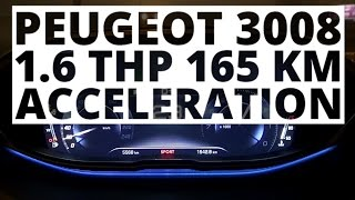 Peugeot 3008 1.6 THP 165 hp (AT) - acceleration 0-100 km/h