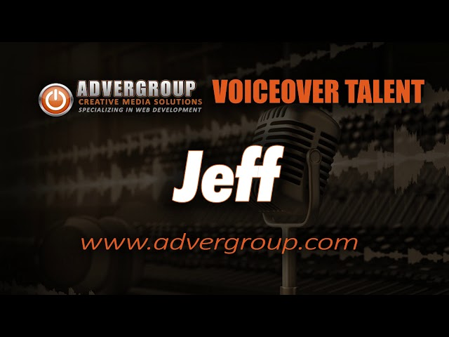 JEFF Male VOICEOVER  ..