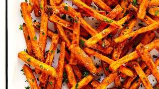 best way to cook sweet potato wedges in oven