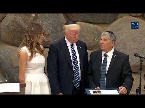 President Trump Gives Remarks at Yad Vashem