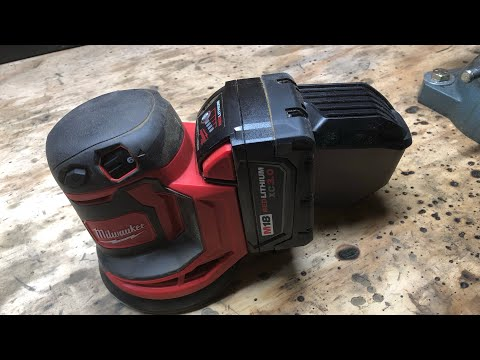 Milwaukee M18 Orbital Sander Review