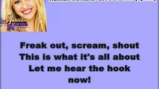 Hannah Montana- Let's Do This [Lyrics] (HQ)