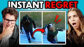 Adults React To INSTANT REGRET Compilation