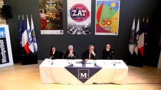 preview picture of video 'Politique Culturelle 2015 de la Ville de Montpellier.'