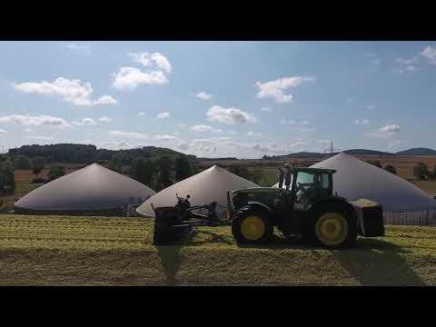 Wolfhagen Biogasanlage Maisernte 2018