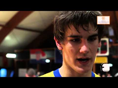 Interview: Dragan Bender, Maccabi Teddy Tel Aviv - EB ADIDAS NEXT GENERATION TOURNAMENT Rome