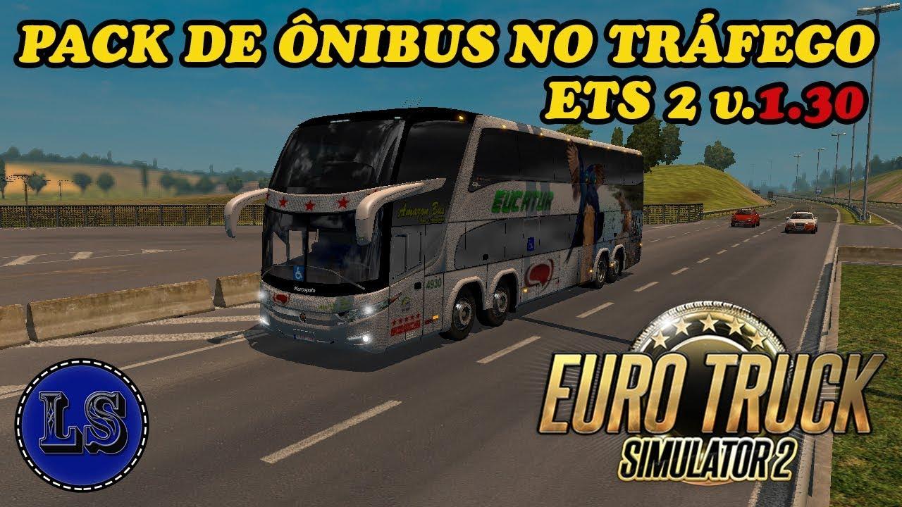 Marcopolo Paradiso G7 Traffic Pack v 2 5 mod for ETS 2