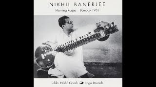 Pandit Nikhil Banerjee (Sitar)   Raga Bilaskhani Todi