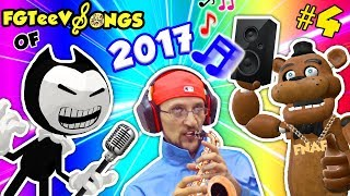 FGTEEV GAMEPLAY SONGS of 2017! Bendy & The Ink Machine Band w/ FNAF & Tattletail (Part 4)