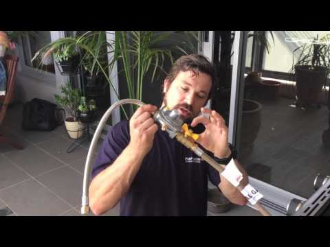 How to convert a BBQ from LPG to natural gas