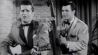 Johnny Burnette Rock'n'roll Trio - Lonesome Train (1956) - HD