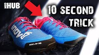 Tying your shoes for Mud Runs & OCR events top tip