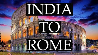 India to Rome | Cheapest Budget | Full info | Lets travel