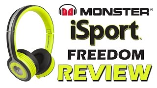 Monster iSport Freedom Bluetooth Headphones Review