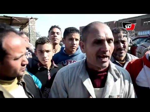 «تجار المواشي» يتظاهرون ضد غلق «سوق المنصورة»