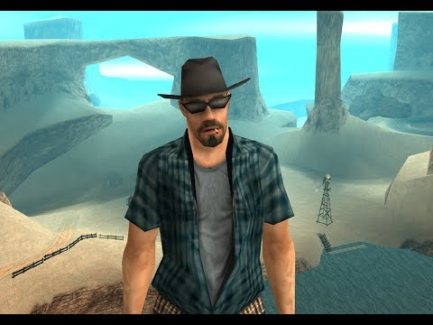 Grand Theft Auto San Andreas Quotes - Blue Plaid Cowboy