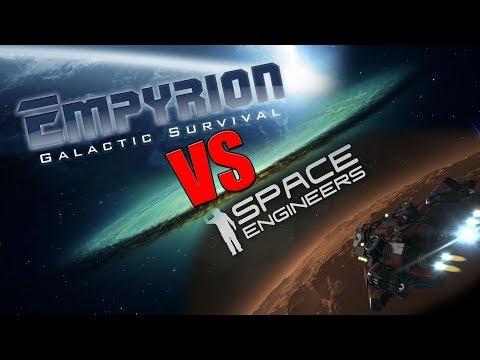 Empyrion - Úvodné video a porovnávanie s SE!