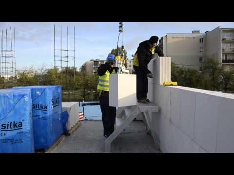 Budowa z wielkowymiarowych bloków SILKA TEMPO - wskazówki wykonawcze - zdjęcie