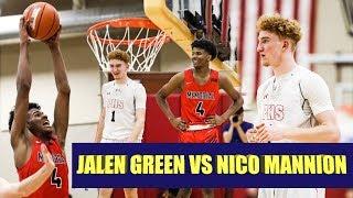Jalen Green Vs Nico Mannion was LIT! Game Recap