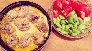 Тушеные куриные голени. Быстро, вкусно, легко!  ПП рецепт.