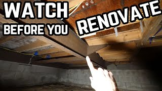 Watch This Before You Renovate A Mobile Home - Weight And Structure
