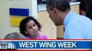 "West Wing Week: 02/15/13 or ""You're a Hero"""