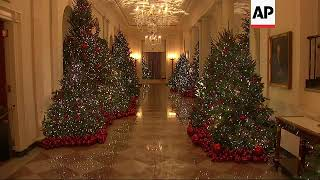 White House unveils its 2018 Christmas decorations