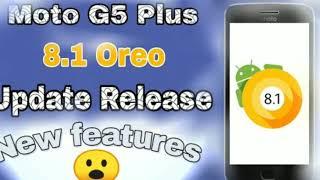 Moto G5 Plus| Oreo | Top 7 Features