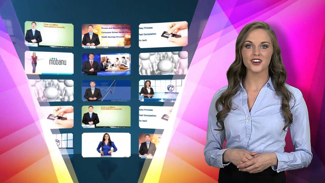 Custom Video Presentation Example - 'Shifting Hues'