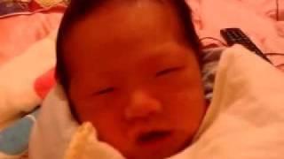 我家寶寶睡覺好忙篇01