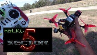 HGLRC Sector 5 V2 FPV - Freestyle Racer - BEAST MODE!