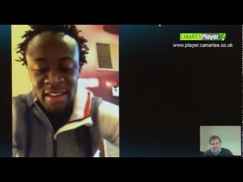 FREEVIEW - Norwich City Kei Kamara interview
