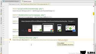 Bài 28: Đọc dữ liệu API danh sách bài hát từ quảng cáo và gắn dữ liệu lên giao diện