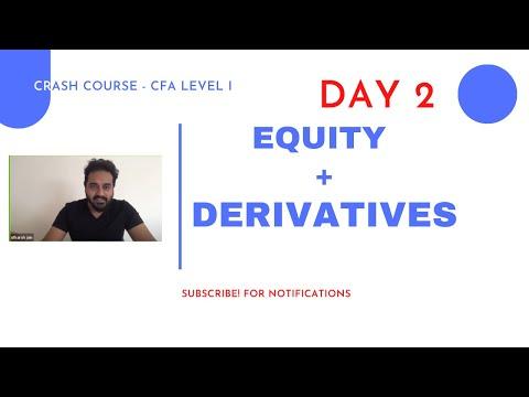 CFA Level I - Complete CRASH COURSE - Equity + Derivatives ...