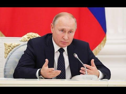 Встреча Владимира Путина с представителями деловых кругов Франции. Полное видео