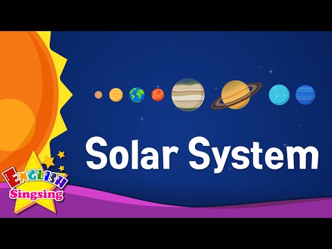 Solar System - Planets - English for kids
