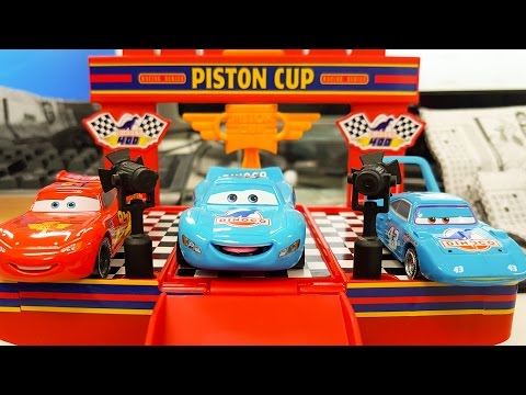 Disney Pixar Cars Lightning McQueen Mack Truck Learning Color Number with Special for kids car toys
