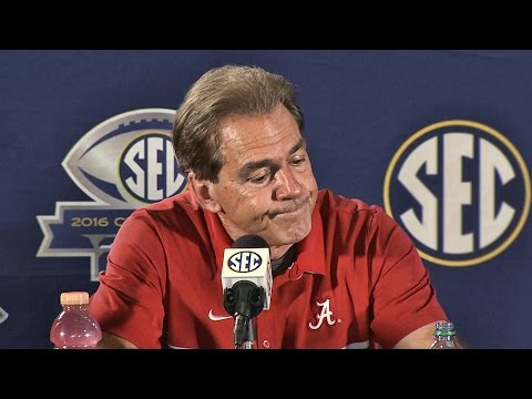 Nick Saban discusses Lane Kiffin looking for a head coaching job